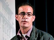 José F. A. Oliver, Ibrahim Farghali: Kairo-Stuttgart - das Stadtschreiber-Projekt <br/>(c) Heiner Wittmann