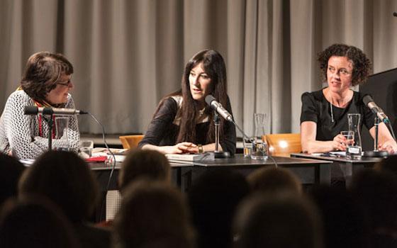 Maria Schrader, Zeruya Shalev: Für den Rest des Lebens <br/>(c) Sebastian Becker