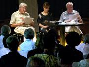 Volker Klotz, Wolfgang Höper, Edith Koerber: Bürgerliches Lachtheater <br/>(c) Heiner Wittmann