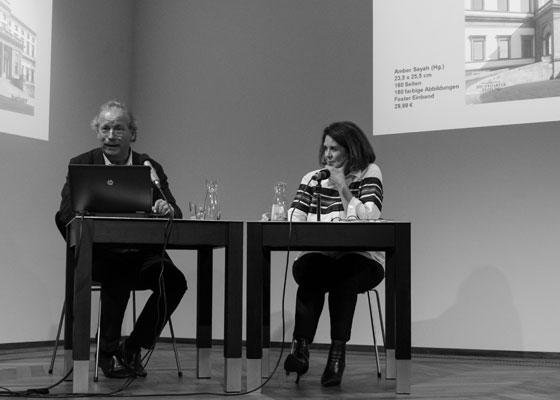 Amber Sayah: Architekturstadt Stuttgart,                                                               Freitag, 12.10.18               /                   19.30              Uhr                               <br/>(c) Simon Adolphi