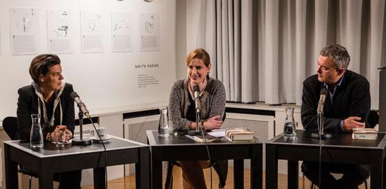 Ilija Trojanow, Carolin Emcke: Opening: Macht und Widerstand <br/>(c) die arge lola