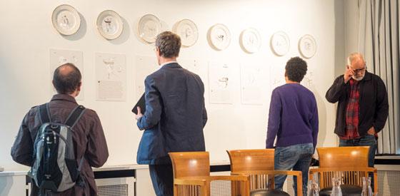 Viktoria Lomasko, Alexandar Zograf, Nikita Kadan, Andeel: Kunst im Protest: Vier Positionen, Samstag, 19.09.15               /                   16.00              Uhr <br/>(c) Sebastian Wenzel