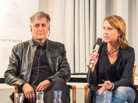 Viktoria Lomasko, Alexandar Zograf, Nikita Kadan, Andeel: Kunst im Protest: Vier Positionen <br/>(c) Sebastian Wenzel