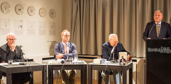 Uwe Timm, Daniel Göske: Carl Schurz: Lebenserinnerungen <br/>(c) Sebastian Wenzel