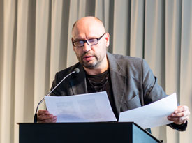 Vladimir Sorokin: Literatur als Botschafter: Frisch erschienen!, Sonntag, 20.09.15               /                   16.00              Uhr <br/>(c) die arge lola