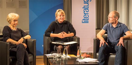 "Ulrike Draesner, John von Düffel: Kleists ""Michael Kohlhaas"" Die Eskalation der Gewalt <br/>(c) Sebastian Wenzel"