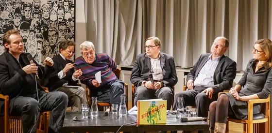 Peer Steinbrück, José Munoz, Anna Kemper, Johann Ulrich: Der Mythos Eternauta - Héctor Germán Oesterheld <br/>(c) Sebastian Wenzel