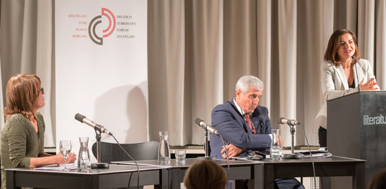 Bilgin Ayata, Hüseyin Bağcı: Kontakt und Kalkül: Der Blick der Türkei auf Europa <br/>(c) Sebastian Wenzel