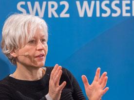 """Ulrike Draesner, John von Düffel: Ingeborg Bachmann """"Erzählungen und Gedichte"""" <br/>(c) Sebastian Wenzel"""