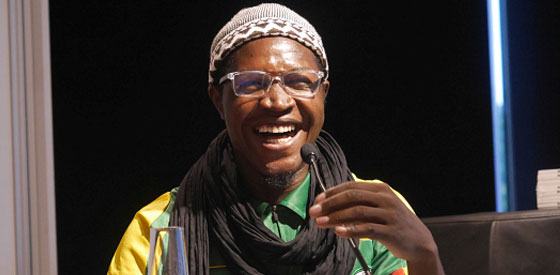 Noufou Badou: Wer kauft schon Bücher aus Burkina Faso? <br/>(c) Heiner Wittmann