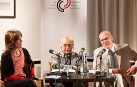 Günter Seufert, Yalım Eralp: Im Gewand der Globalisierung: Was heißt hier Neo-Osmanismus? <br/>(c) Lukas Stark