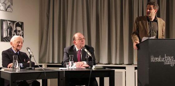 Louis Begley: Erinnerungen an eine Ehe, Montag, 04.11.13               /                   20.00              Uhr <br/>(c) Heiner Wittmann
