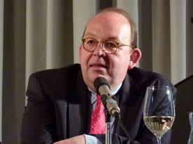 Dietmar Dath, Sandra Richter, Denis Scheck: Zurück in die Zukunft, Mittwoch, 08.05.13               /                   20.00              Uhr <br/>(c) Heiner Wittmann