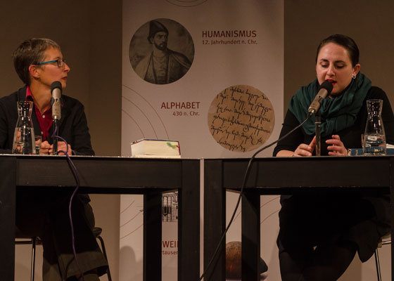 Nana Ekvtimishvili, Nino Haratischwili: Das Birnenfeld / Die Katze und der General <br/>(c) Simon Adolphi
