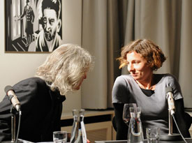 Birgit Brenner, Juli Zeh: Extrablatt,                                                               Donnerstag, 05.12.13               /                   20.00              Uhr                               <br/>(c) Kristina Popov