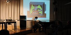 Sibylle Berg, Henning Wagenbreth: Extrablatt – eine Autorin, ein Künstler, eine Seite <br/>(c) Kristina Popov