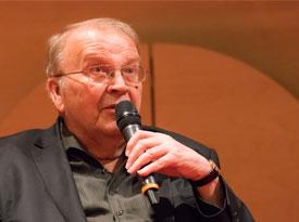 Jörg Armbruster, Berthold Leibinger, Ulrike Groos, Micha Brumlik, Wilhelm Genazino: Freiheit und Verantwortung. 95 Thesen heute <br/>(c) Sebastian Wenzel