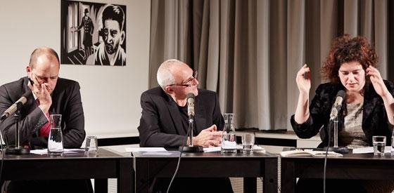 Nora Gomringer, Georg Mein: Literatur und Rhythmus – Wann singt das Sprechen? <br/>(c) Yves Noir