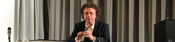 Friedrich Pfäfflin, Ingo Schulze: Ludwig Greve, Montag, 06.05.13               /                   20.00              Uhr <br/>(c) Kristina Popov