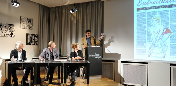 Wolf Haas, Teresa Präauer: Extrablatt <br/>(c) Kristina Popov