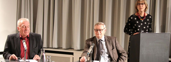 Hans R. Vaget, Manfred Dierks: Der »Gesegnete« - Thomas Manns Roosevelt, Dienstag, 16.10.12               /                   20.00              Uhr <br/>(c) Heiner Wittmann