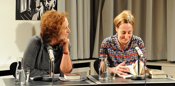 Judith Hermann, Manuela Reichart: Alice Munro – Liebes Leben <br/>(c) Kristina Popov