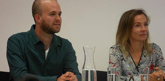Joanna Bator, Esther Kinsky: Von Großmüttern, Müttern und Töchtern <br/>(c) Heiner Wittmann