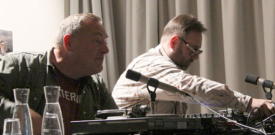 Thomas Meinecke, Andreas Vogel: Geklaute Melodien <br/>(c) Sebastian Wenzel