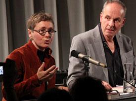 Thomas Meinecke, Angela Steidele: Liebesschwindelerregt <br/>(c) Sebastian Wenzel