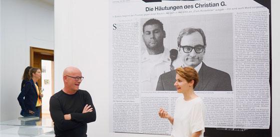 Sara-Lena Maierhofer, Tobias Timm: Dear Clark. Studie eines Hochstaplers <br/>(c) Sebastian Wenzel