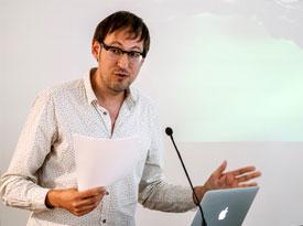 Cornelius Reiber, Philipp Albers: Mimikry. Literaturfälscherei zum Mitmachen <br/>(c) Sebastian Wenzel