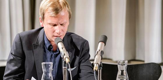 Robert Stadlober: Lockerungsübungen. Ein literarischer Hochstapler-Apéro <br/>(c) Sebastian Wenzel