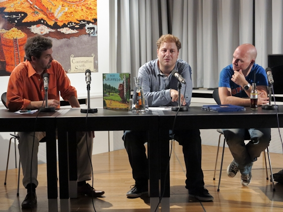 Torben Meier, Constantin Schnell: Das Grüffelokind - Vom Buch zum Film,                                                               Sonntag, 08.07.12               /                   14.00              Uhr                               <br/>(c) Sebastian Becker