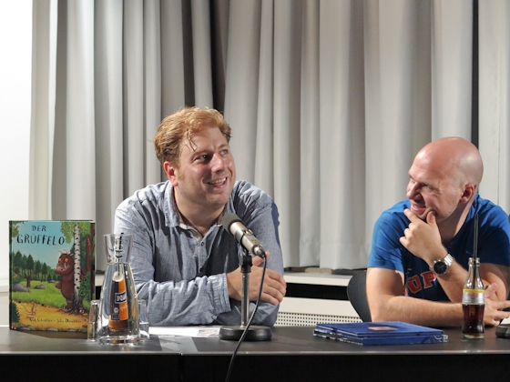 Torben Meier, Constantin Schnell: Das Grüffelokind - Vom Buch zum Film <br/>(c) Sebastian Becker