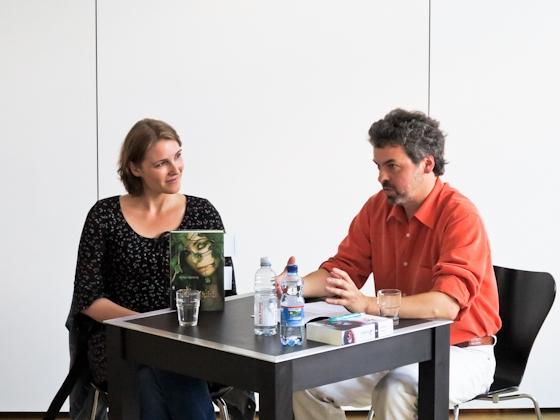 Nina Blazon, Constantin Schnell: Zweilicht <br/>(c) Sebastian Becker