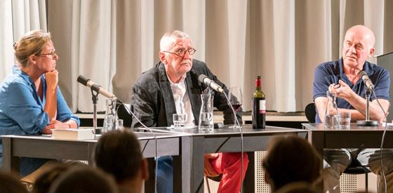 Jan Peter Tripp, Hanns Zischler: Franz Kafka: Betrachtung, Montag, 12.09.16               /                   20.00              Uhr <br/>(c) Wenzel