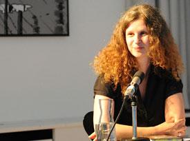 Christian Schünemann, Jelena Volic, Anna Kaleri: Literatur auf der Suche <br/>(c) Kristina Popov
