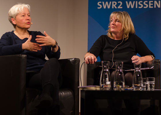 Ulrike Draesner, John von Düffel: Christa Wolf: Kassandra <br/>(c) Simon Adolphi