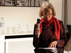 Claudia Gehrke, Yoko Tawada, Bridge Markland: Konkursbuch, Mittwoch, 05.06.13               /                   20.00              Uhr <br/>(c) Kristina Popov