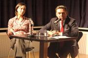 Tilman Krause: Emilie Reinbeck und Gottlob Friedrich Steinkopf <br/>(c) Tilman Eberhardt