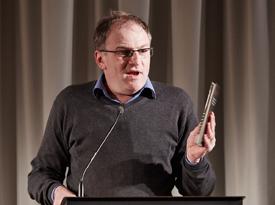 Josef Winkler, Ortwin Beisbart: Literatur und Religion - Wer´s glaubt, wird selig? <br/>(c) Yves Noir