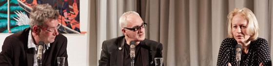 Ulrike Draesner, Matthis Kepser: Text und innere Wahrnehmung <br/>(c) Yves Noir