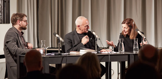 Ursula Krechel, Marko Demantowsky: Literatur und Gedächtnis: Woher weißt Du, was Du schreibst, Freitag, 18.10.13               /                   20.00              Uhr <br/>(c) Yves Noir