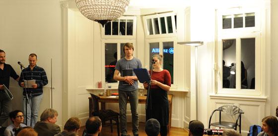 Lyrikkollektiv G13: Der Ausklang <br/>(c) Christina Popov