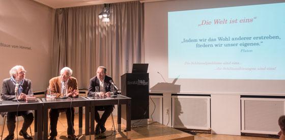 Peter Spiegel, Georgios Zervas: Zukunftsfragen: Globaler Mindestlohn <br/>(c) Sebastian Wenzel