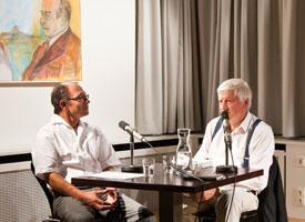 Karl Corino, Joachim Sauter: Erinnerungen an Robert Musil <br/>(c) Sebastian Becker