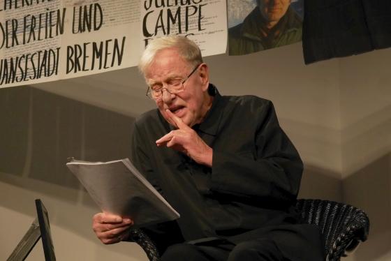Claus Peymann: Claus Peymann liest Thomas Bernhard: Meine Preise <br/>(c) Heiner Wittmann (25.09.18) und Simon Adolphi (26.09.18)