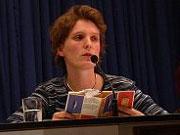 Annette Pehnt, Tanja Schwarz: Junge deutsche Literatur, Montag, 19.11.01               /                   20.00              Uhr <br/>(c) Heiner Wittmann