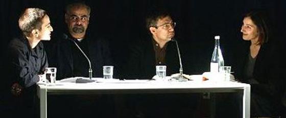Orhan Pamuk: Orient-Okzident,                                                               Donnerstag, 13.12.01               /                   20.00              Uhr                               <br/>(c) Heiner Wittmann