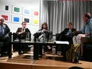 Annette Kulenkampff, Susanne Eisenmann, Horst Thomé, Philipp Haußmann: Die Zukunft der Geisteswissenschaften in Stuttgart, Mittwoch, 15.07.09               /                   20.00              Uhr <br/>(c) Heiner Wittmann